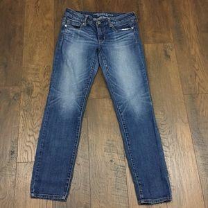 American Eagle super strech skinny jeans